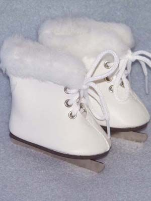 Furry Ice Skates Ag 18 Inch Doll Shoes Tutorials Or
