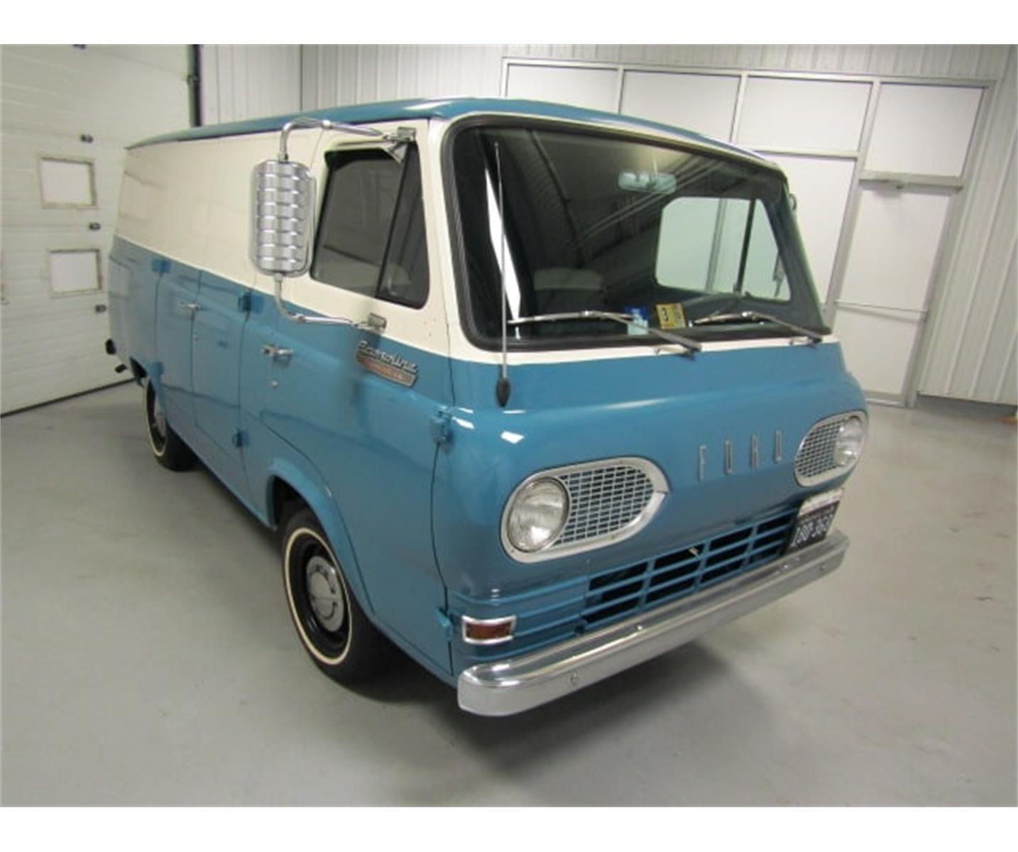 Pin On Ford Econoline Falcon Van
