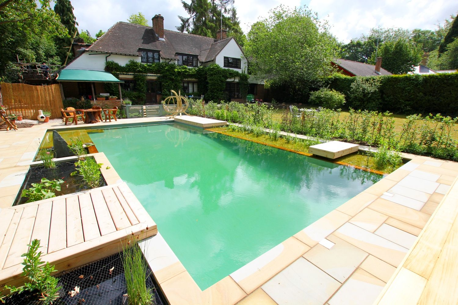 The Challenge The client wanted a planted natural swimming pool ...