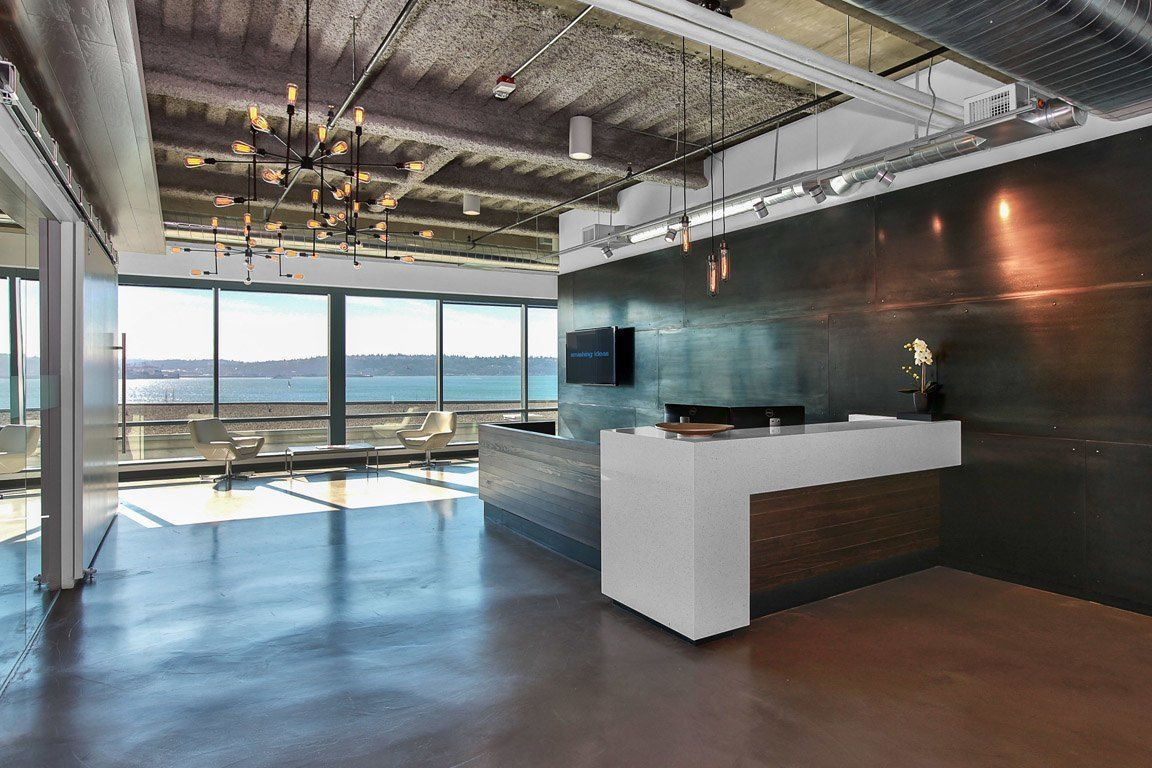 Creative Office Reception Design An Exclusive Look Inside Smashing Ideas Stylish Seattle Office