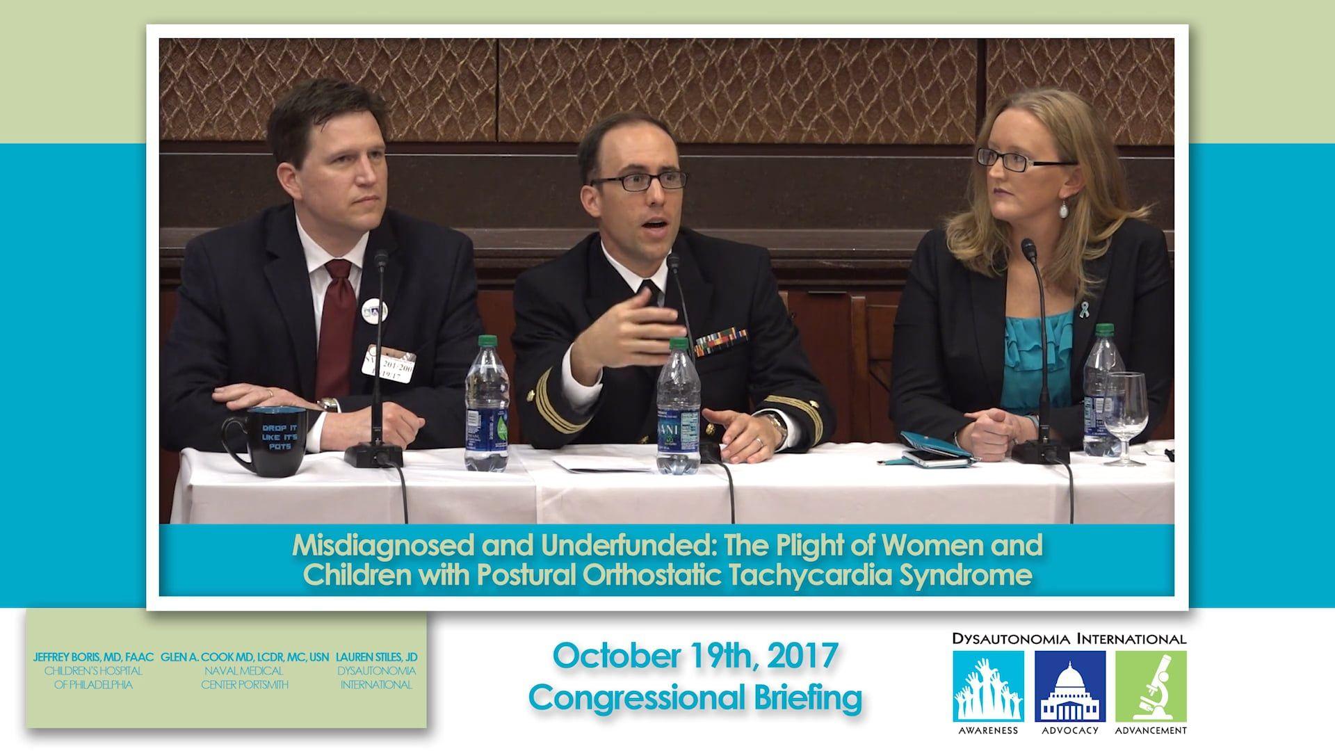Congressional Briefing on POTS John thune, Children