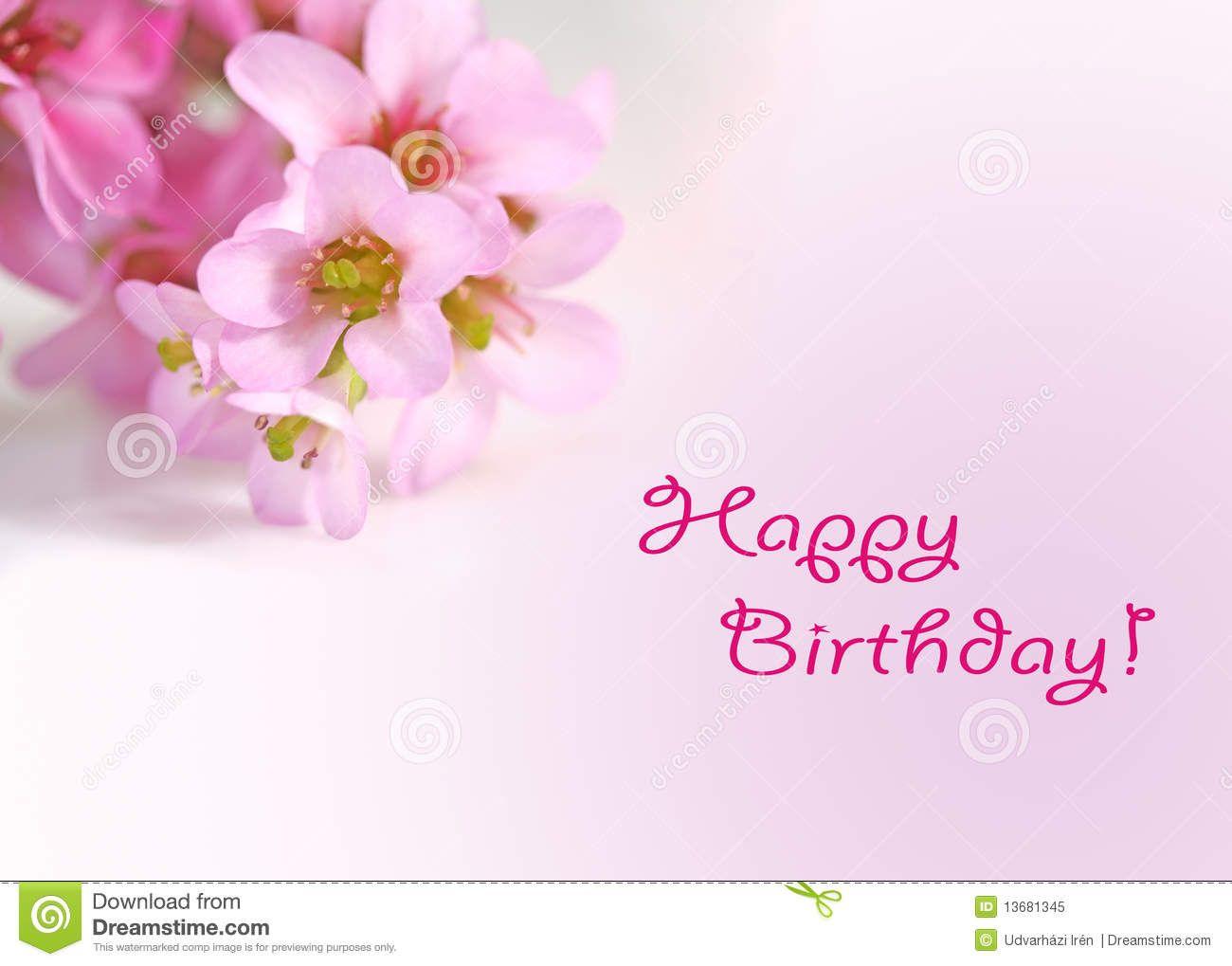 Pics For Happy Birthday Flowers Cards verjaardag Pinterest