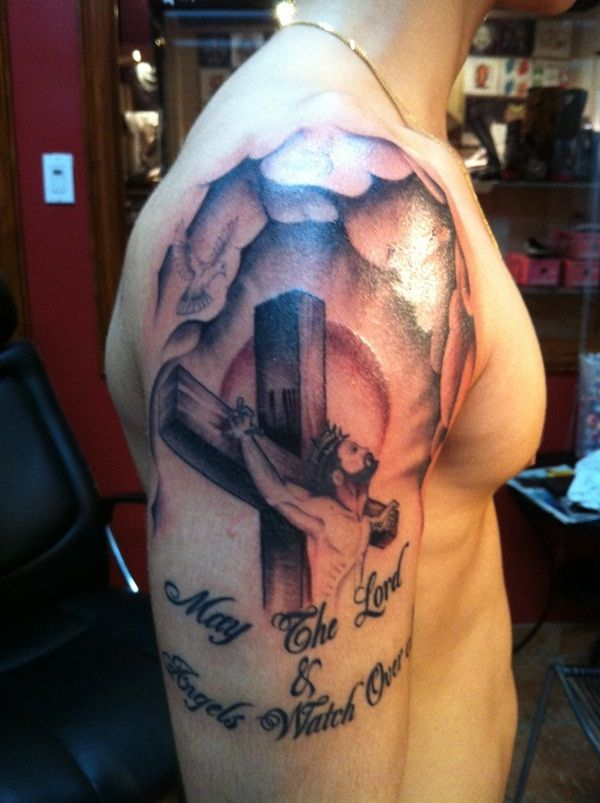 Powerful religious tattoo Designs to Try (36)