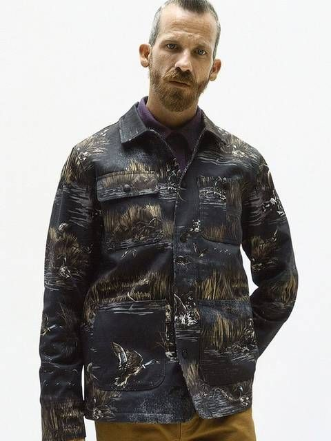 Ducks And Dogs Jacket | SUPREME ARCHIVE | Camo jacket, Mens
