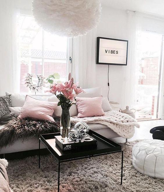 ♡ ᒪOᑌIᔕE ♡ Interiors Pinterest Sala de estar, Hogar y