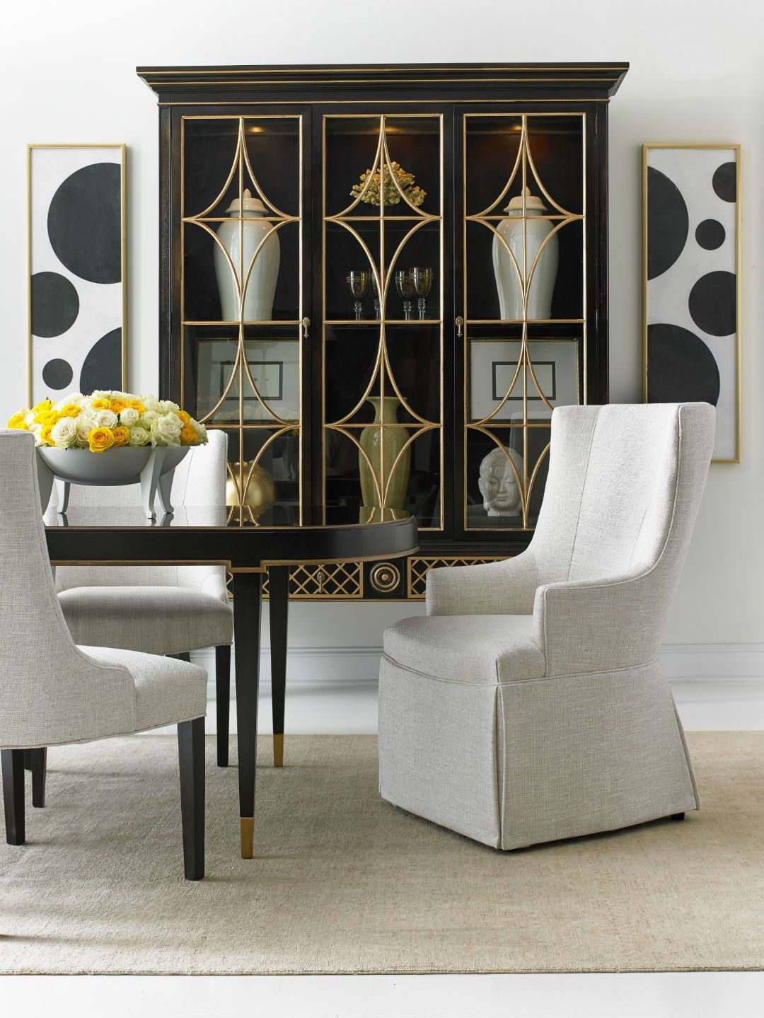 High End Dining Room Furniture In Montreal Modern Dining Room