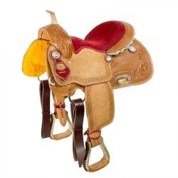 "13"" Competition Barrel Saddle"
