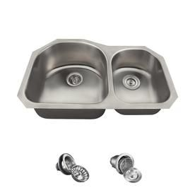 Mr Direct 31 25 In X 20 In Stainless Steel Double Basin Undermount Commercial Residential Kitche Double Bowl Kitchen Sink Undermount Kitchen Sinks Double Basin
