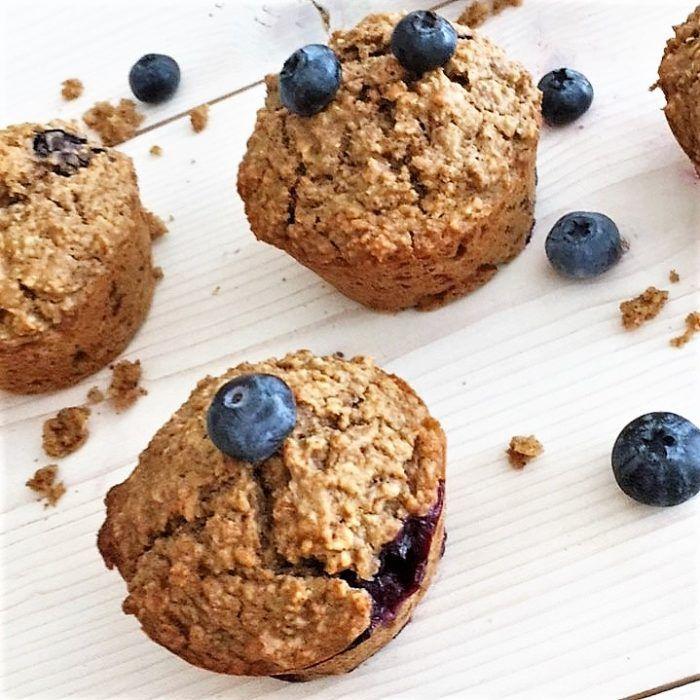 havermout muffins met blauwe bessen in 2018   food   pinterest   food