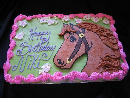 Horse cupcake cake Horse Cake and Horse cake
