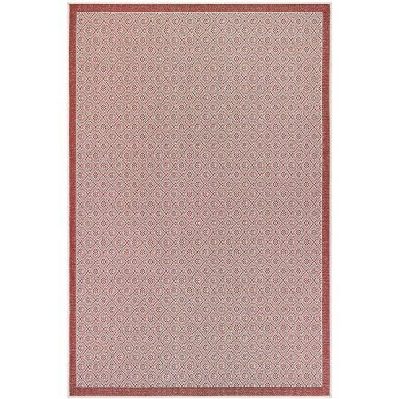 Couristan Monaco 2' x 3'7 inch Rug, Red