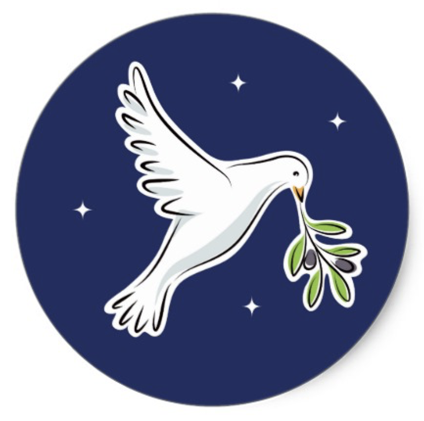 White Dove Christian Event Christmas Classic Round Sticker Zazzle Com White Doves Round Stickers Christmas Stencils