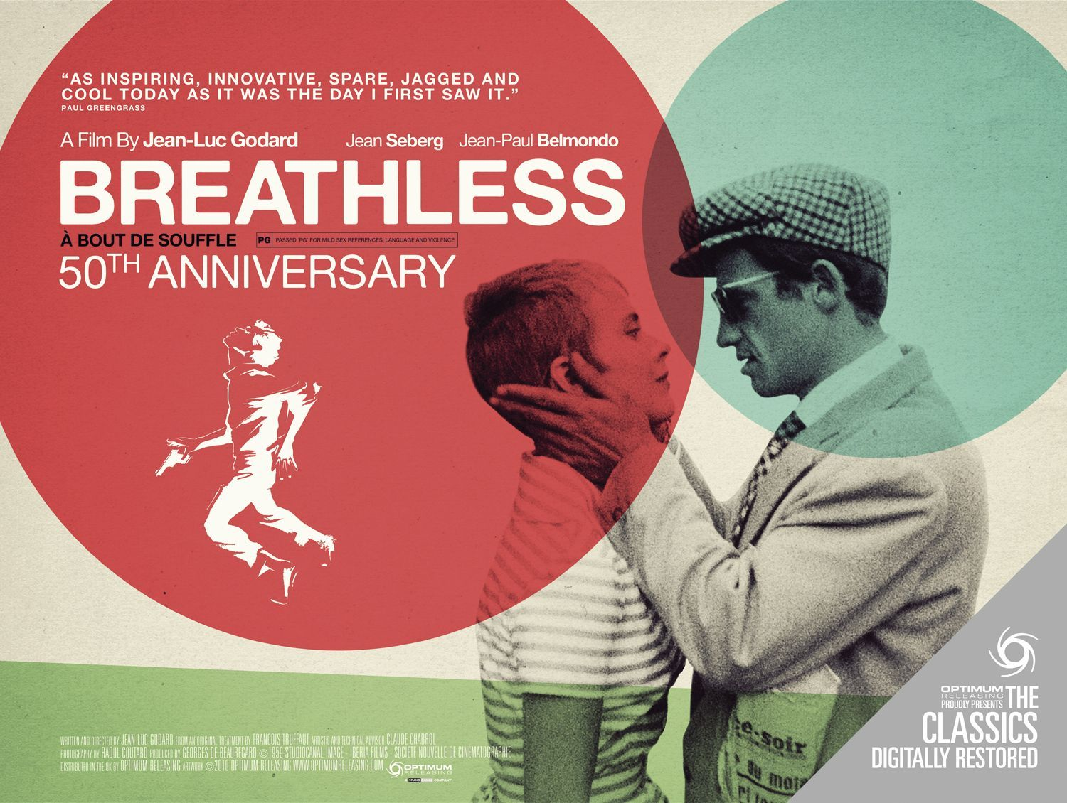 breathless 50th anniversary poster