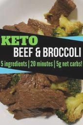 Keto Beef & Broccoli in 20 minutes  Keto Beef And Broccoli #health #fitness #nut... #rezepte #tofu #...