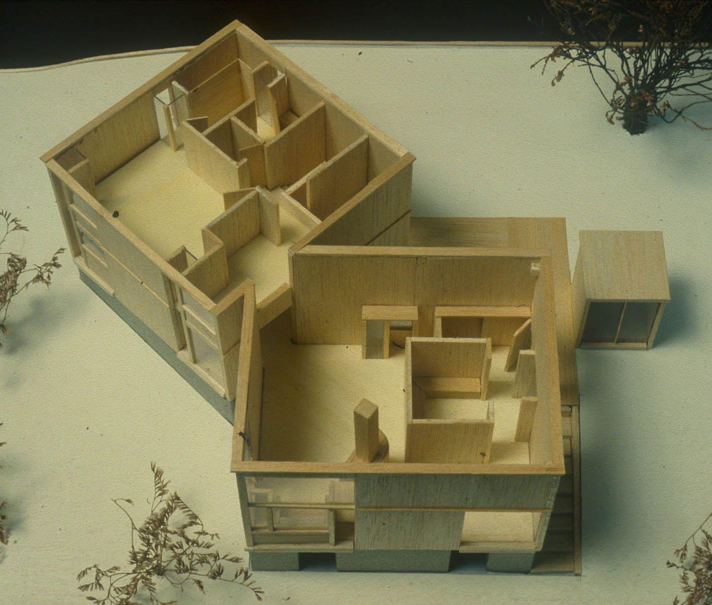 Kahn 1960 fisher house 02 fisher house pinterest for Architektur 1960