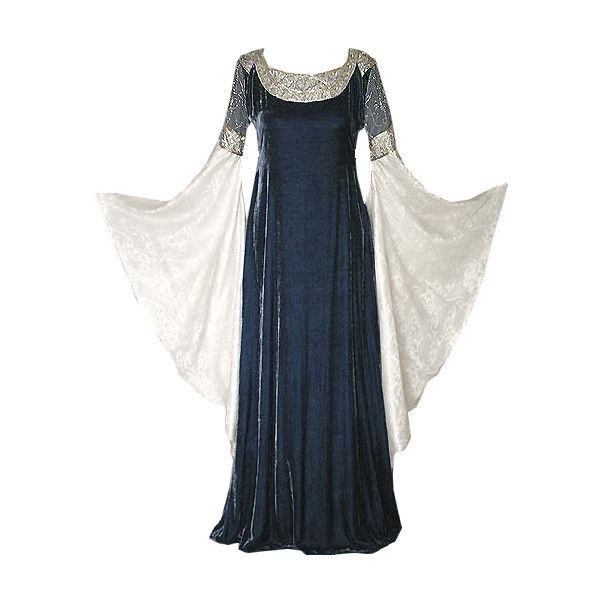 53 Best Images About Medieval Dress On Pinterest: Medieval Dress Liked On Polyvore Featuring Dresses