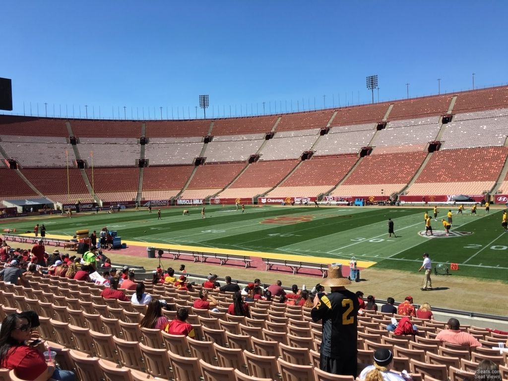 The Most Awesome La Memorial Coliseum Seating Chart Di 2020