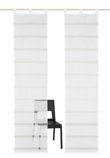 Schiebegardine Ilanz Home Wohnideen Klettband 1 Stuck Ohne Montagezubehor Online Kaufen Otto Home Wohnideen Schiebegardine Gardinen