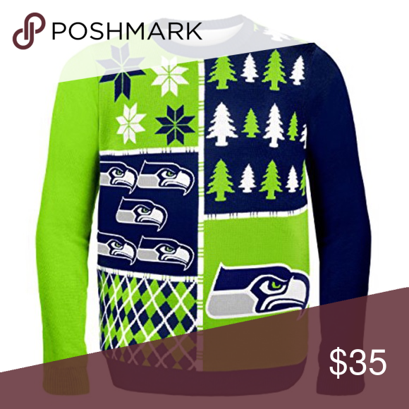 seattle seahawks ugly christmas sweater nfl m for all nfl fans this is - Seahawks Christmas Sweater