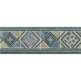 Sanitas 6 7 8 Moroccan Tile Prepasted Wallpaper Border Wallpaper Companies Wallpaper Border Lowes Wallpaper
