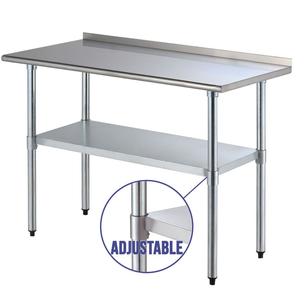 Stainless Restaurant Table 24