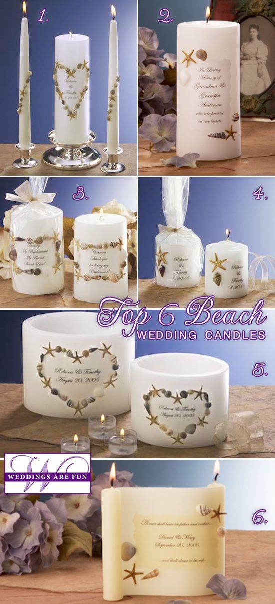 top 6 beach wedding candles pinterest beach weddings wedding