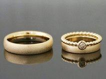 Eheringe JOVIAL SET 333 od 585 Gold Hochzeit