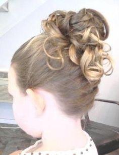Flower Girl Hair Flower Girl Hairstyles Recital Hairstyles Hair Up Styles