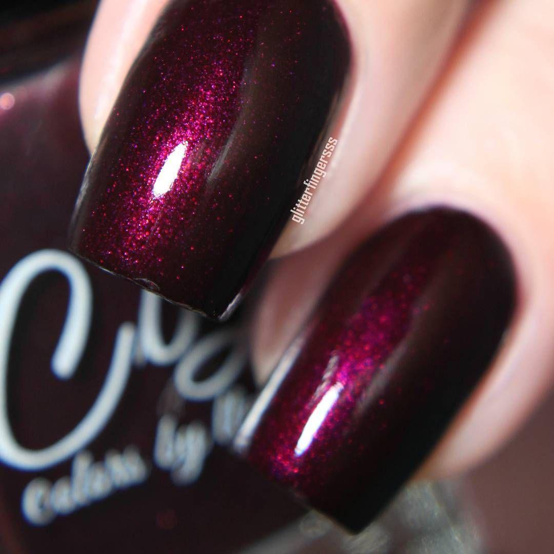 Colors by llarowe nail polish in Hot Summer Nights #dark red maroon ...
