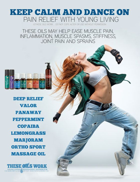 Essential oils for DANCERS!   Dance workout, Dance poses ...