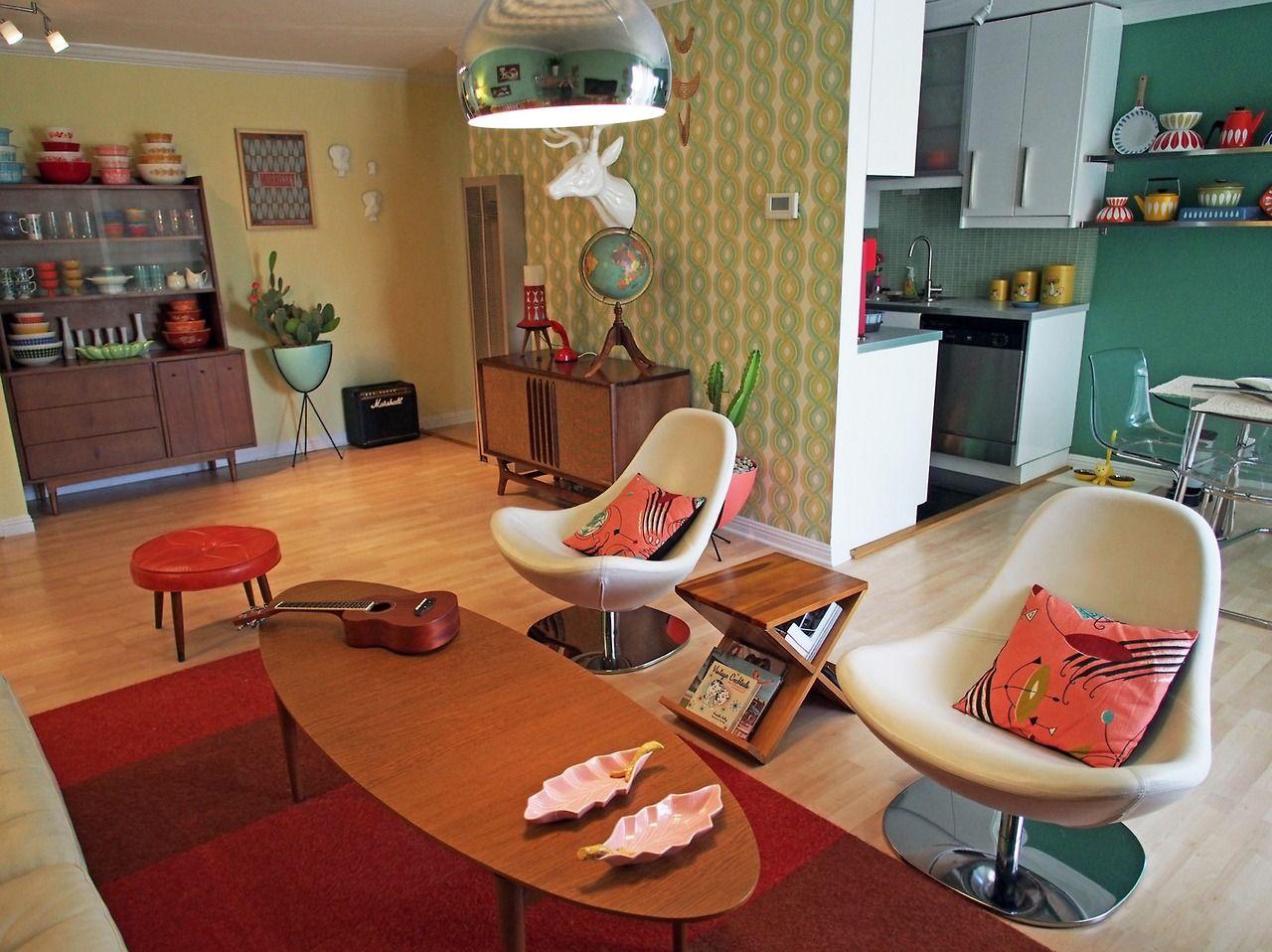 Mid-Century Modern Freak   Sweet Bay Area Apartment Viviana ...