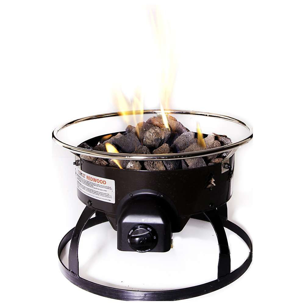 Camp Chef Redwood Propane Fire Pit Portable Fire Pits Fire Pit Propane Fire Pit