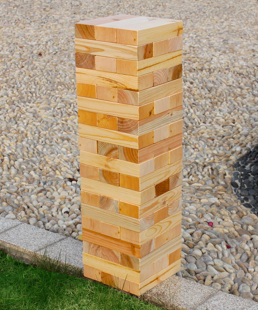 Wooden Tumbling Tower Game Tower Games Jenga Game Games