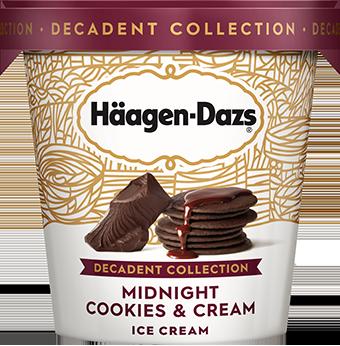 Midnight Cookies And Cream Ice Cream Ice Cream Nutrition Midnight Cookies Ice Cream