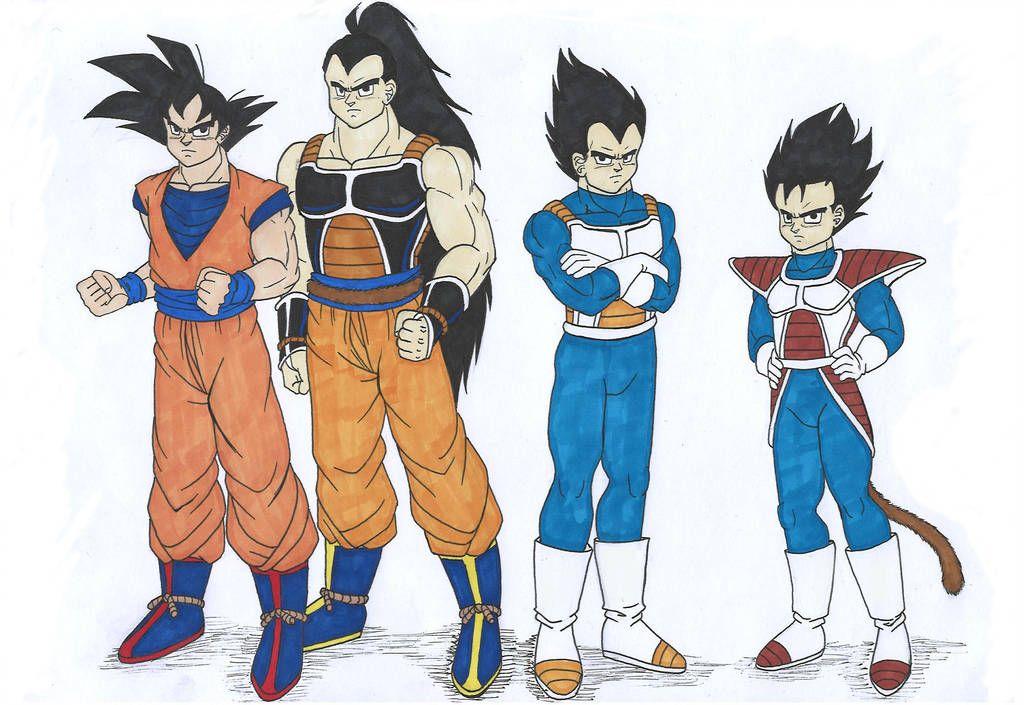 Db Saiyan Brothers By Isabellafaleno Dragon Ball Art Dragon Ball Super Manga Dragon Ball Artwork