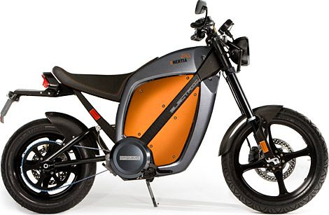 Brammo Enertia Electric Motorcycle Electric Motorcycle
