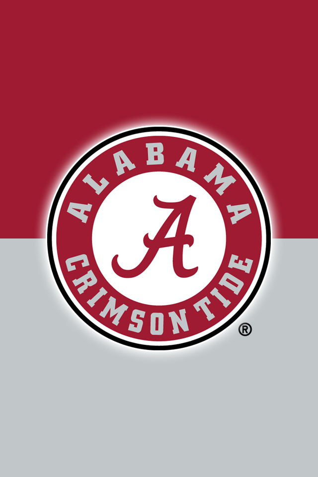 Set Of 24 Officially Ncaa Licensed Alabama Crimson Tide Iphone Wallpapers Alabama Crimson Tide Alabama Crimson Alabama Wallpaper