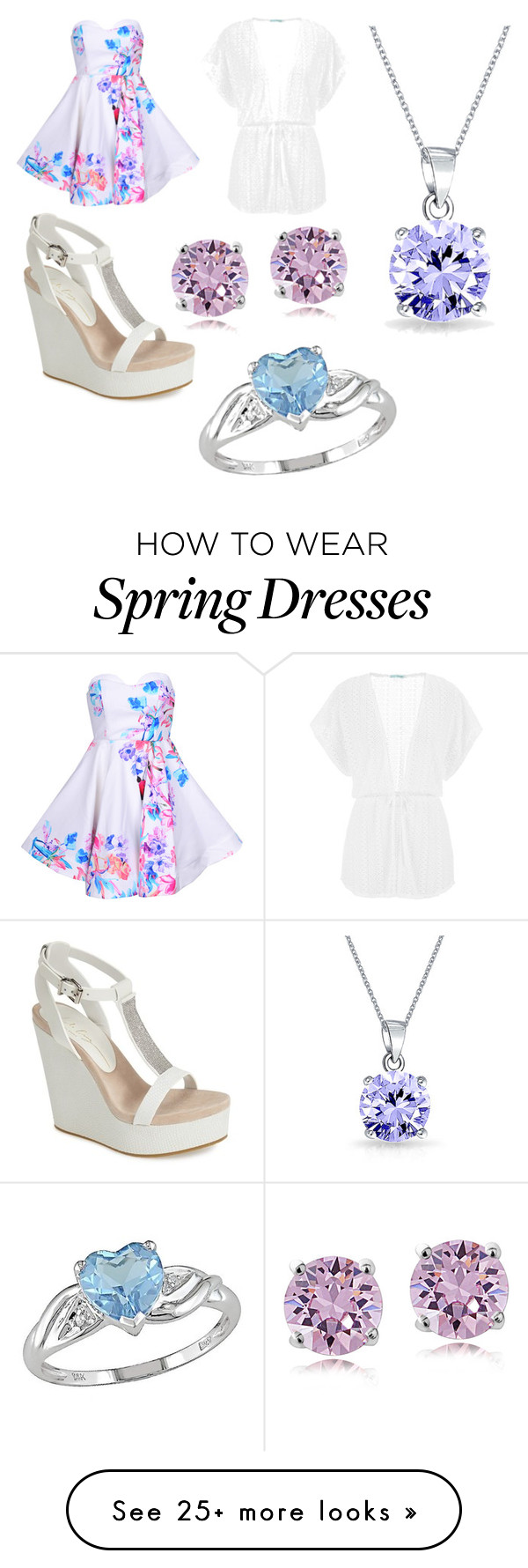 """""""Spring picture ☀️"""" by makia115 on Polyvore featuring moda, Lola Cruz, maurices, Bling Jewelry y Ice"""