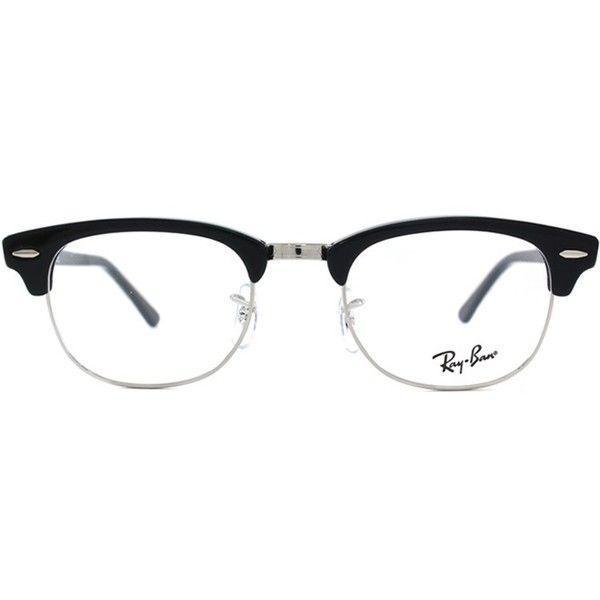 0764fd333f0 Ray-Ban RX 5154 2000 Black Clubmaster Plastic Eyeglasses - 51mm ( 128) ❤