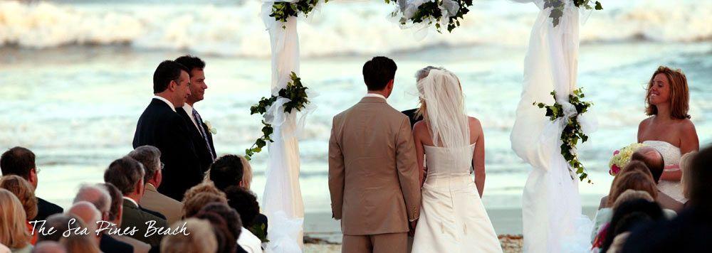 Wedding Sea Pines Beach Ceremony Venues Hilton Head Island South Carolina