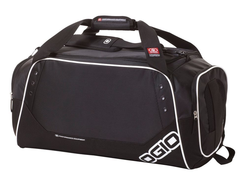 """OGIO® Contender 23"""" Versatile Sports Black Medium Duffel for Travel or Gym - New #OGIO #DuffleGymBag"""