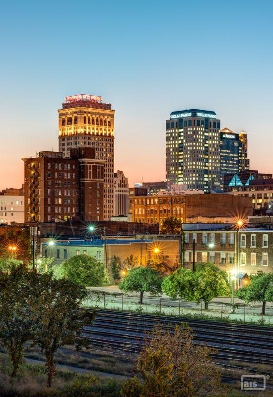 Travel Architectural Photography Blog Jais Birmingham Skyline Birmingham Birmingham Alabama