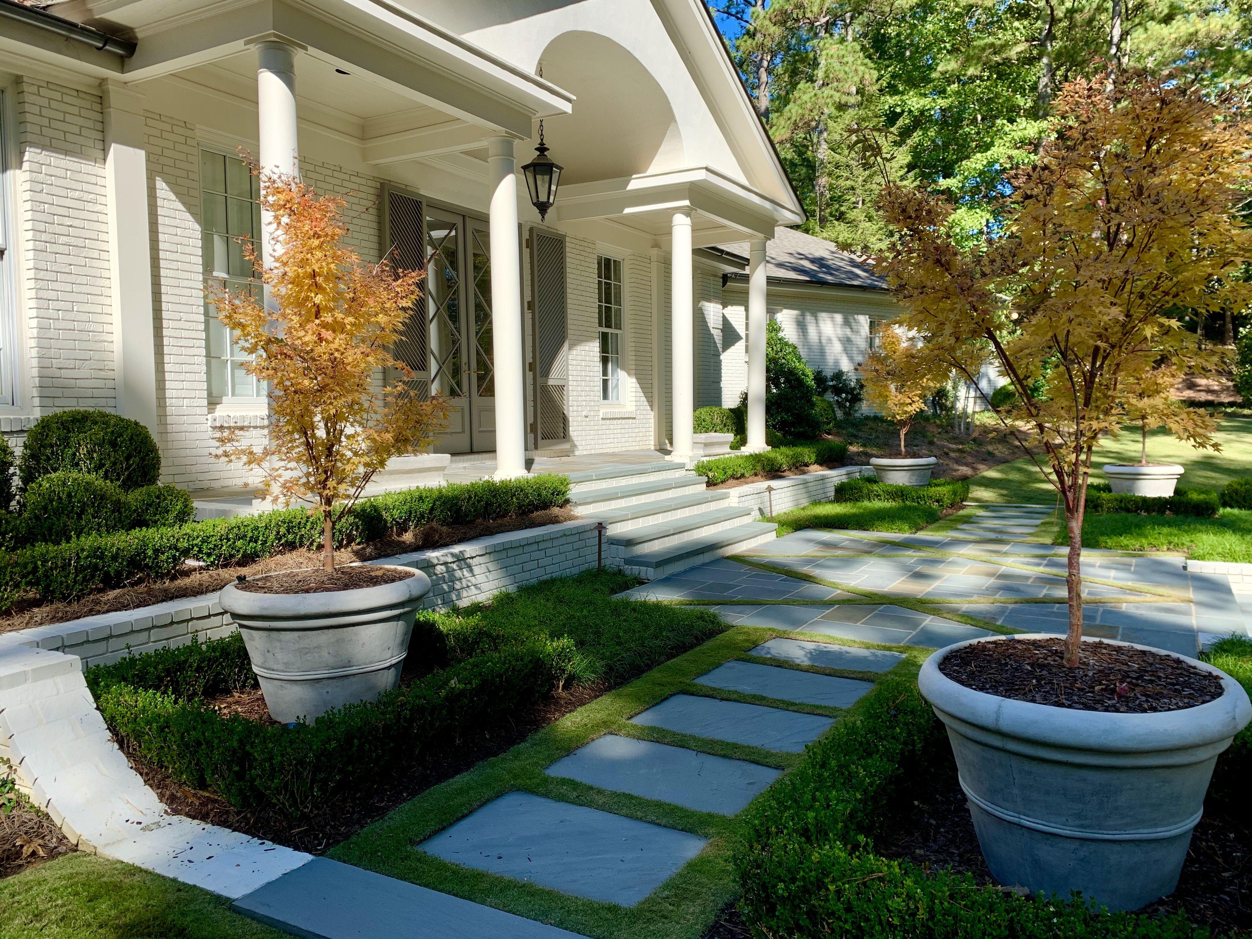 Fall Landscapes House Landscape Landscape Design Landscaping Images