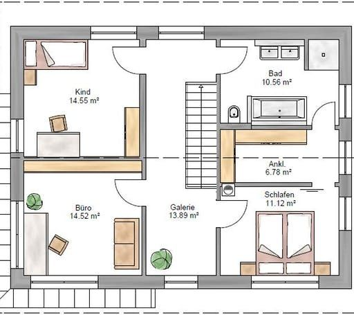 Einfamilienhaus Trendline 154 von Suckfüll Unser