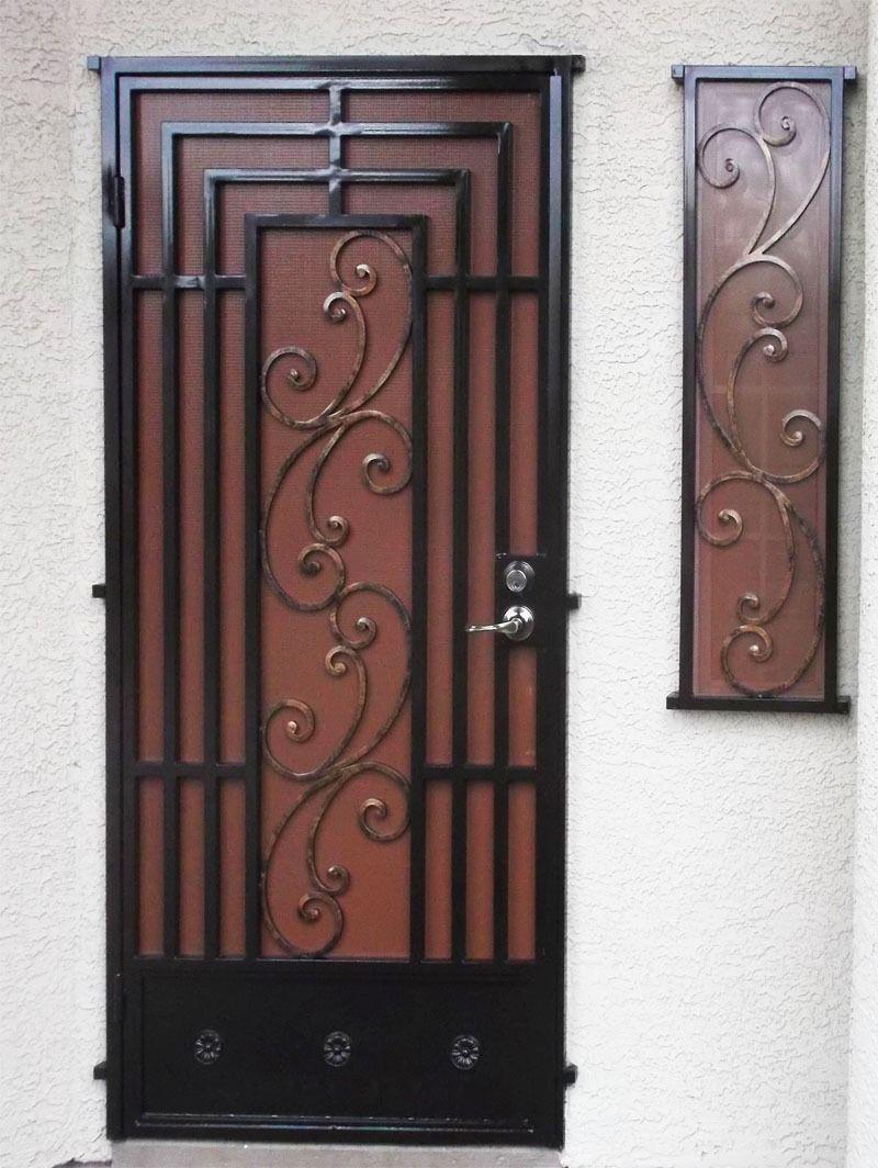 Diseños de parrilla de puerta