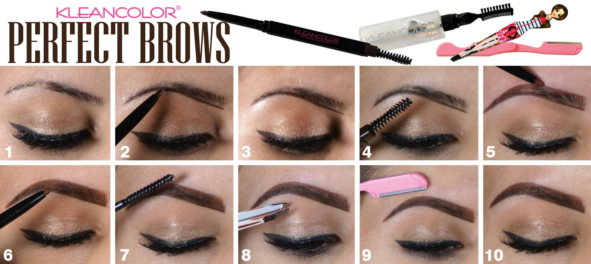 Perfect those uneven brows by using our Retractable ...