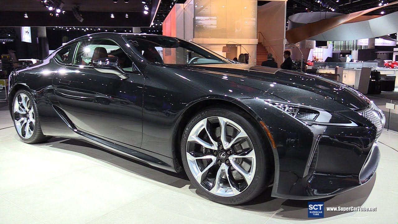 2018 Lexus Lc 500 Exterior Walkaround 2016 La Auto Show Autos