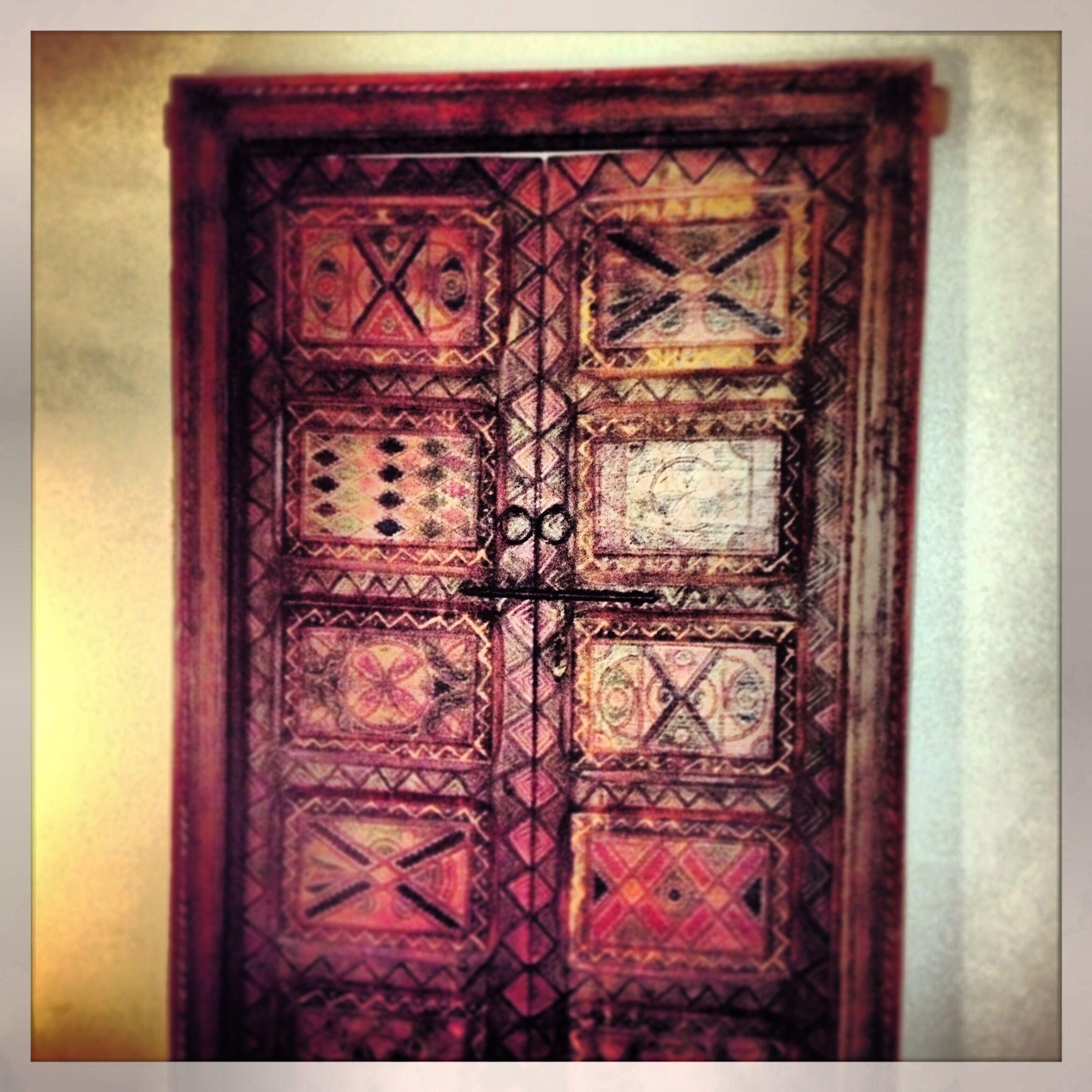 Antique th centuary morroccan door riad arabia marrakech