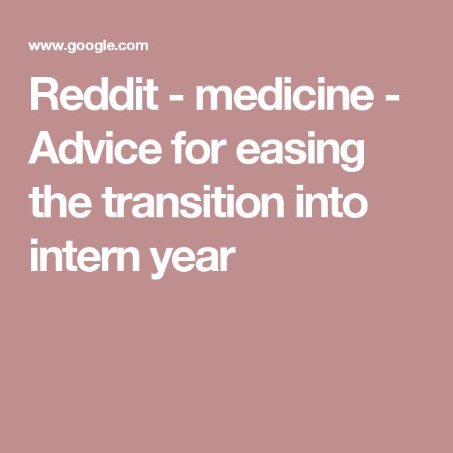 Reddit Medicine