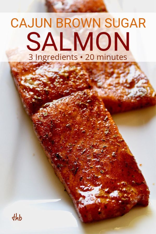 Cajun Brown Sugar Salmon